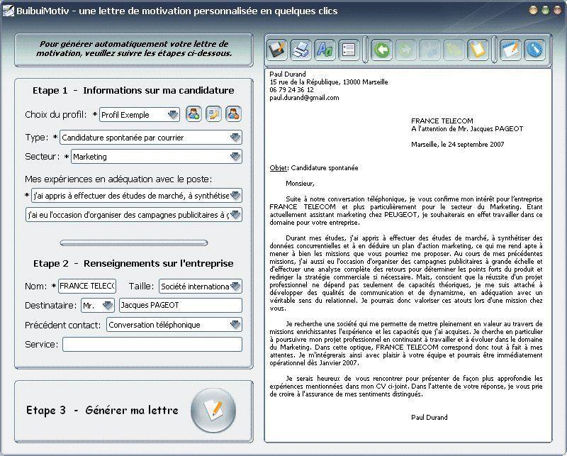 exemple lettre de remerciement job d u0026 39 ete