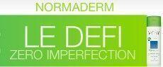7 jours de soins gratuits Normaderm Tri-Activ (Belgique)