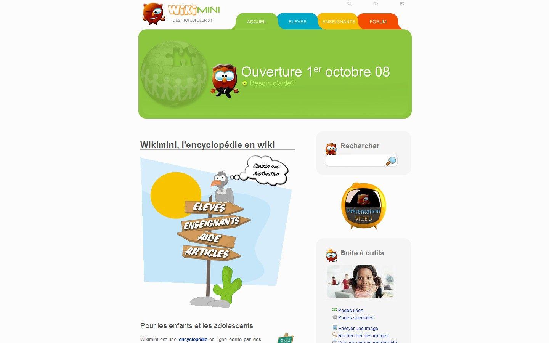 Wikimini : Le Wikipédia des plus petits